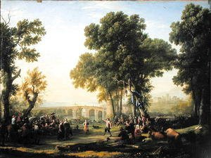 Claude Lorrain (Gellee) - The Village Festival, 1639
