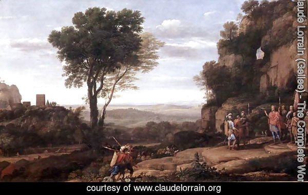 Landscape with David at the Cave of Abdullam, 1658
