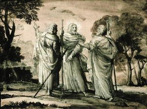 Claude Lorrain (Gellee) - Journey to Emmaus