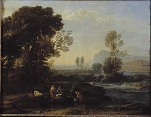 Landscape with the Flight into Egypt, 1647