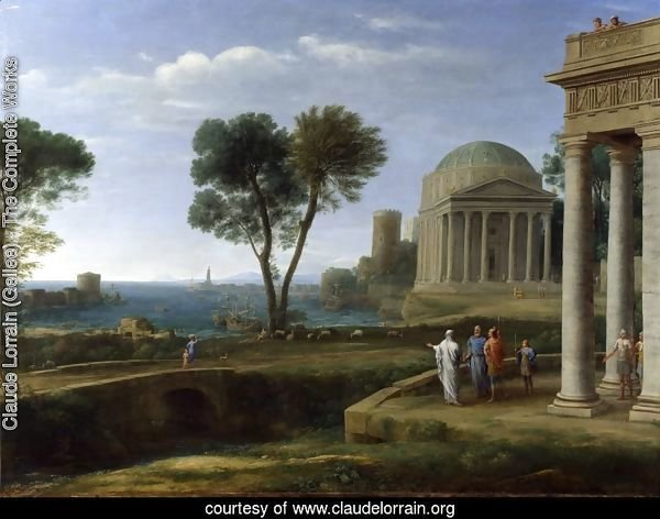Landscape with Aeneas at Delos, 1672