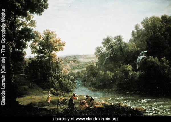Wooded Landscape with a Brook, 1630
