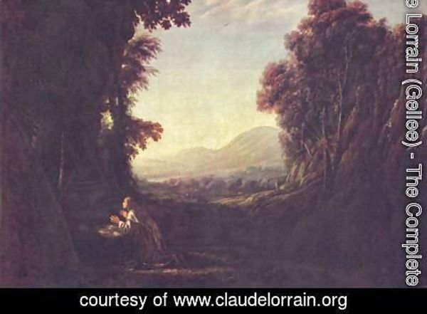 Claude Lorrain (Gellee) - Landscape with the Repentant Magdalene