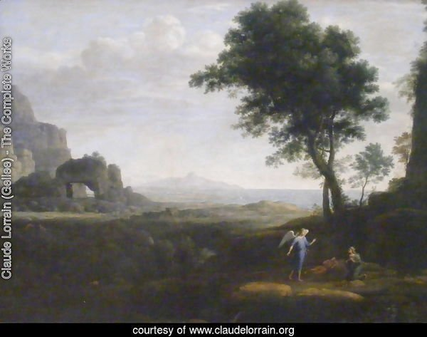 Hagar and Ishmael in the Desert