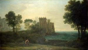 Claude Lorrain (Gellee) - The Enchanted Castle