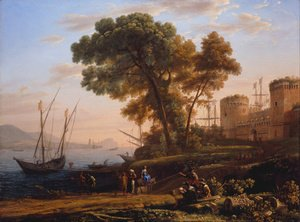Claude Lorrain (Gellee) - An Artist Studying Nature