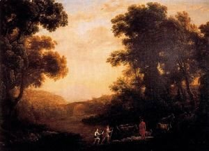Claude Lorrain (Gellee) - Ford of a river