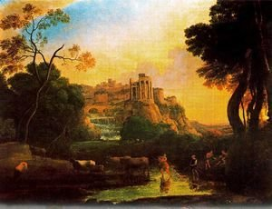 Imaginary view of Tivoli