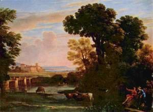 Landscape with Shepherd (Pastorale)