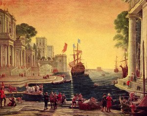 Claude Lorrain (Gellee) - Odysseus returns Chryseis to Her Father
