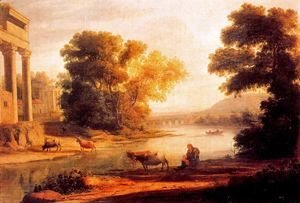 Claude Lorrain (Gellee) - The ford 2