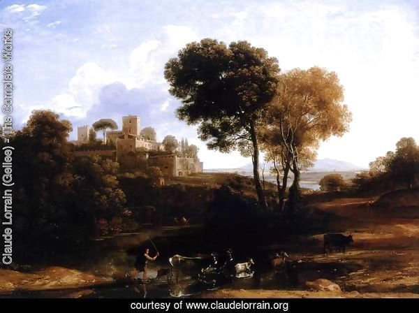 Villa at the Campagna in Rome