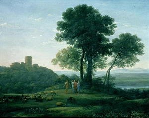 Claude Lorrain (Gellee) - Jacob with Laban and his daughters