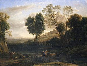 Claude Lorrain (Gellee) - Sunrise possibly 1646