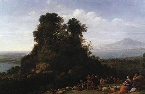 Claude Lorrain (Gellee) - The Sermon on the Mount 1656