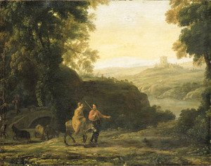 Claude Lorrain (Gellee) - The Flight into Egypt