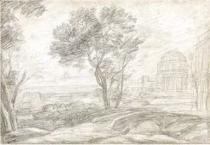 Claude Lorrain (Gellee) - A View Of Delphi