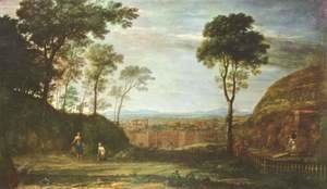 Claude Lorrain (Gellee) - Easter morning