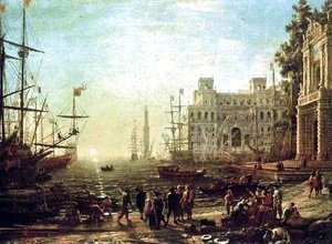 Claude Lorrain (Gellee) - Seaport