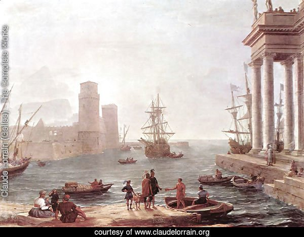 Departure Of Ulysses From The Land Of The Feaci