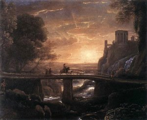 Claude Lorrain (Gellee) - Imaginary View of Tivoli 1642