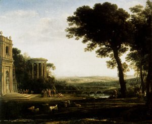 Landscape With A Sacrifice To Apollo
