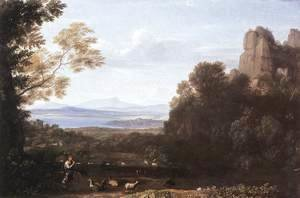Landscape with Apollo and Mercury 1660