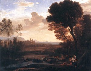 Claude Lorrain (Gellee) - Landscape with Paris and Oenone 1648