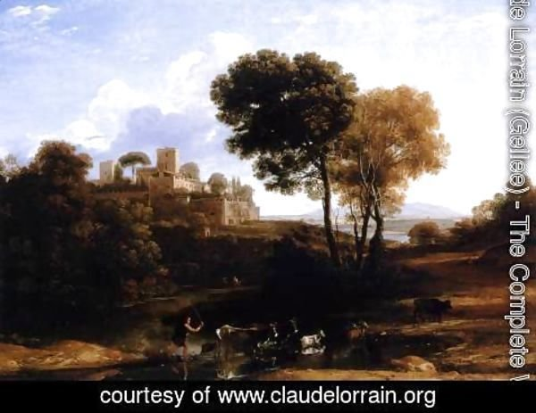 Claude Lorrain (Gellee) - Landscape with Shepherds 1645-46