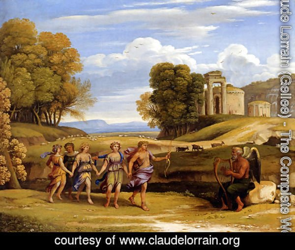 Claude Lorrain (Gellee) - The Dance Of The Seasons