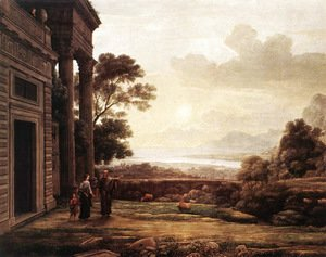 Claude Lorrain (Gellee) - The Expulsion of Hagar 1668