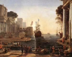 Claude Lorrain (Gellee) - Ulysses Returns Chryseis to her Father 1648