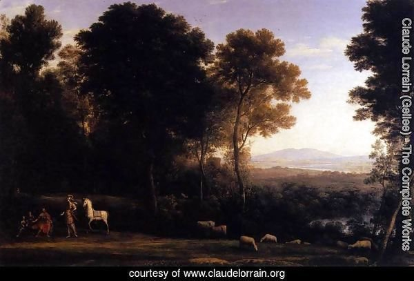 Erminia and the Shepherds 1666