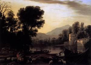 Claude Lorrain (Gellee) - The Mill 1631