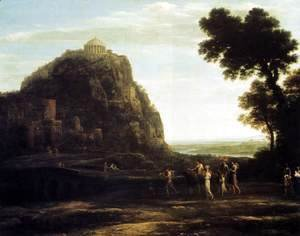 Claude Lorrain (Gellee) - View of Delphi 1672