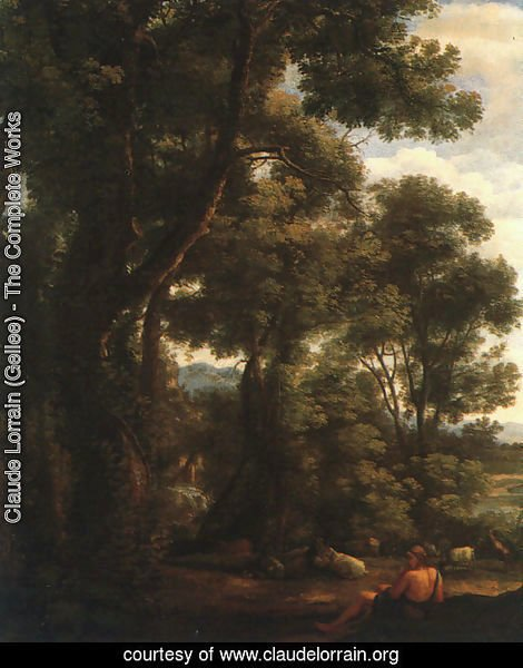 Landscape with Goatherd  1636
