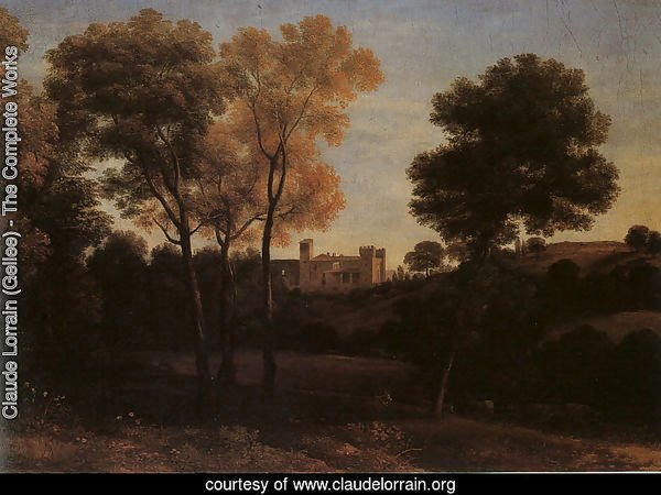 View of La Crescenza  1648-50